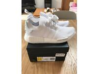 Adidas NMD_R1 Triple White Japan UK8
