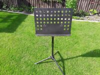 STAGG EXTENDING MUSIC STAND