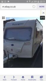 bailey ranger 550/6 2007 with motor mover. interior and exterior immaculate.