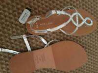 Size 6 New look sandals