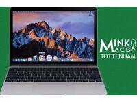"SPACE GREY Core M3 1.1Ghz 12"" Apple MacBook Retina Display 8gb 256GB SSD AutoCad VectorWorks Office"