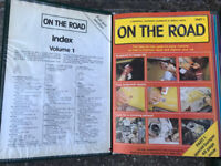 Vintage Car Books On The Road by Marshall Cavendish