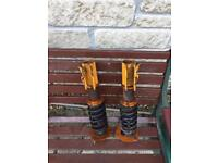 Nissan S14 adjustable coilovers