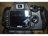 Nikon D40 complete with 18-55 zoom lens