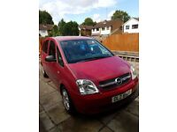 Opel Meriva 1.6 March 2005, MOT until March 2018