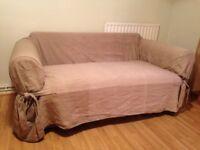 100% Cotton Brocade Sofa Slipcover