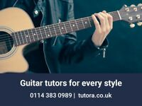 Want Guitar Lessons? Try Tutora - Over 400 Music Teachers (Guitar, Bass, Piano, Violin)