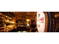 Small independent Restaurant bar looking for full & part time waiting staff.