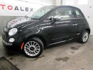 2015 FIAT 500c Lounge CABRIO CUIR MAGS BEATS AUDIO