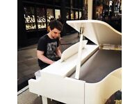 Keyboard/Pianist available for studio work (blues, rock, pop, singer - songwriter).