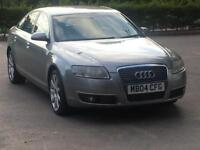 2004 AUDI A6 3.0 TDI QUATTRO CVT AUTOMATIC S LINE BLACK LEATHER HEATED SEATS FSH DRIVES SMOOTH PX