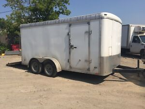 Miska Enclosed Trailer 7x14
