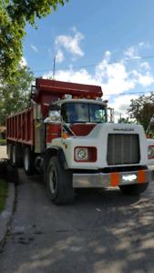1999 Mack Tri-Axle Dump Truck For Sale!