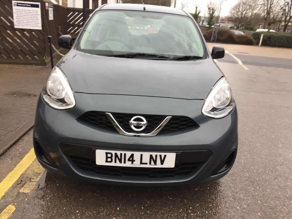 2014 NISSAN MICRA 1.2 VISIA PETROL LOW MILEAGE 12000 HPI CLEAR ONE YEAR MOT