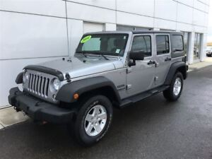 2014 Jeep Wrangler Unlimited Sport A/C