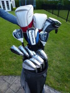 Ensemble de golf complet Taylormade Aeroburner et Rbladez