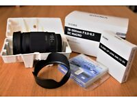 Sigma 18-300 F3.5-5.6 DC Macro OS HSM lens - Canon fit with accessories