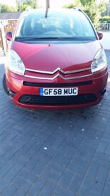 Citroen picasso c4 7seater low milage