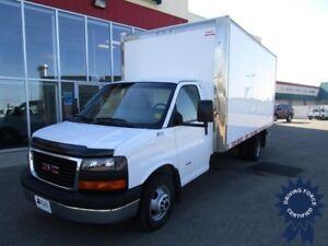 2015 GMC Savana 3500 16 ft Cube Van