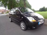 2008 Chevrolet Matiz 1.0 SE 5dr_BLACK_Hatchback_Central Locking_Air Conditioning_Electrical Windows