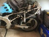 Rg125 breaking or complete bike for repairs or spares