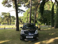 2011/61 Nissan Note 1.4 16v N-TEC 5 Door MPV Black