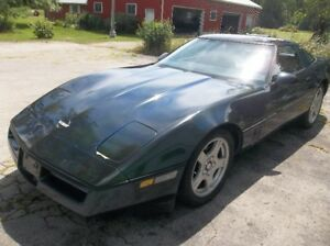 1986 Corvette BC car runs great just brought back from BC