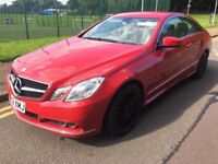 2009 (59) MERCEDES-BENZ E250 2.1 CDI COUPE BLUE EFFICIENCY, FULl BEIGE LEATHER INTERIOR