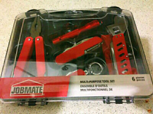 Multi Purpose Tool Set, 6 Peices,Total 38Combinations, Brand New