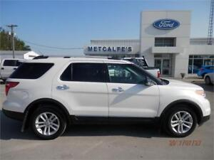 2013 Ford Explorer XLT-Moonroof,Nav,Leather,Reverse Cam