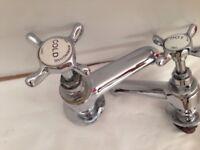 Bristan Birmingham pair of mixer taps reclaimed
