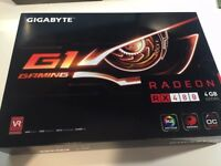 Gigabyte G1 Gaming AMD RX 480 4GB - Excellent Condition RX480