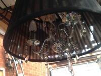 Light fitting chandelier type