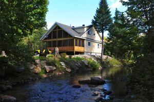 Chalets à louer, Lanaudière, Mandeville, Québec, Canada
