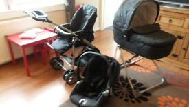 Mamas and Papas MPX travel system, excellent condition