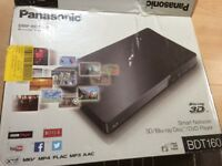Panasonic 3D/Blue-ray disk/DVD player