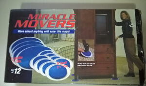 Miracle Movers 8 Piece Furniture Slider Set