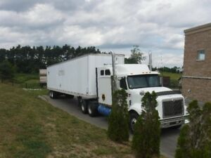2006 International Eagle with 2002 53' Trailmobile Trailer