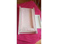 Mothercare White Darlington cot top changer