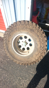 Single Firestone Destination M/T Mud tire