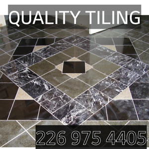 Call the professionals @ QUALITY TILING