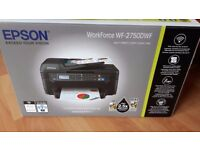 Brand New Epson WF-2750DWF Printer Scanner