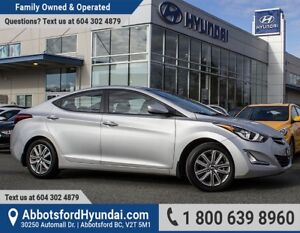 2015 Hyundai Elantra Sport Appearance ACCIDENT FREE & ONE OWNER