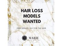** HAIR LOSS MODELS WANTED** LIMITED NUMBERS, APPLY TODAY!