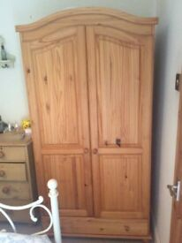 PINE EFFECT WARDROBES