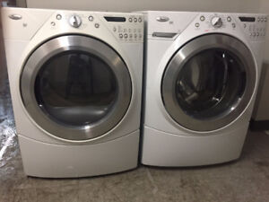 laveuse secheuse frontale Whirlpool