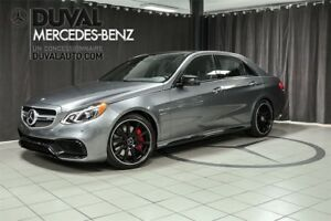 2016 Mercedes-Benz E-Class E63 4MATIC + AMG Night Package / Avan