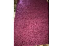 Perfect condition 160X230 dark pink rug