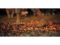 Dare you walk over fire for charity?