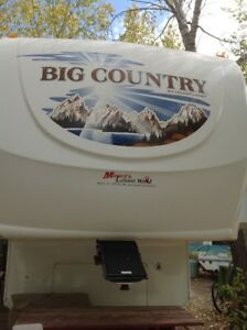 2009 BIG COUNTRY 3490 BHS FIFTH WHEEL